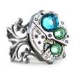 Birthstone Ring steampunk ring